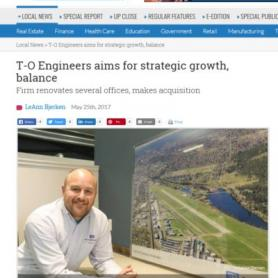 T-O Engineers in Spokane Journal of Business