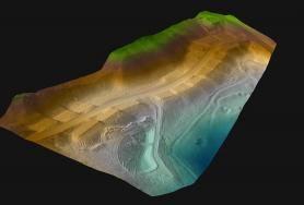 Highlands Cove Subdivision UAV Topographic Surface