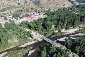 Pine Road Bridge over South Fork Boise River