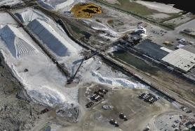 Plain City Salt Mine Monthly UAV Survey for Volumetrics