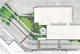 Spokane International Airport Landside Landscape Concept