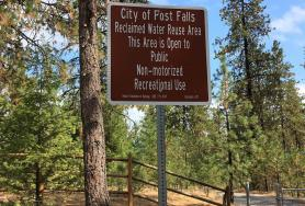 Post Falls Community Forest Reclaimed Water Reuse Site