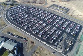 Spokane International Airport Surface Parking Lot Expansion