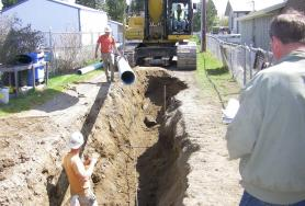 Post Falls Water Main Replacement Projects